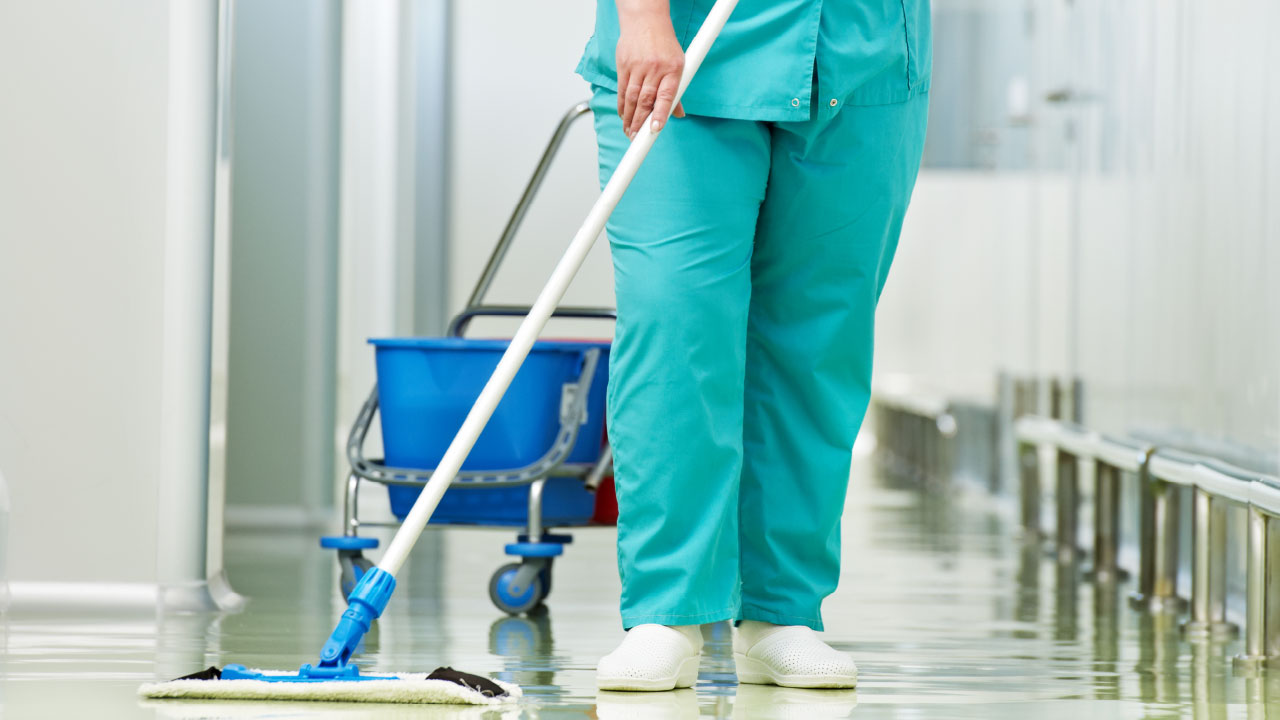 Health Care Facility Cleaning Services Deep Hospital