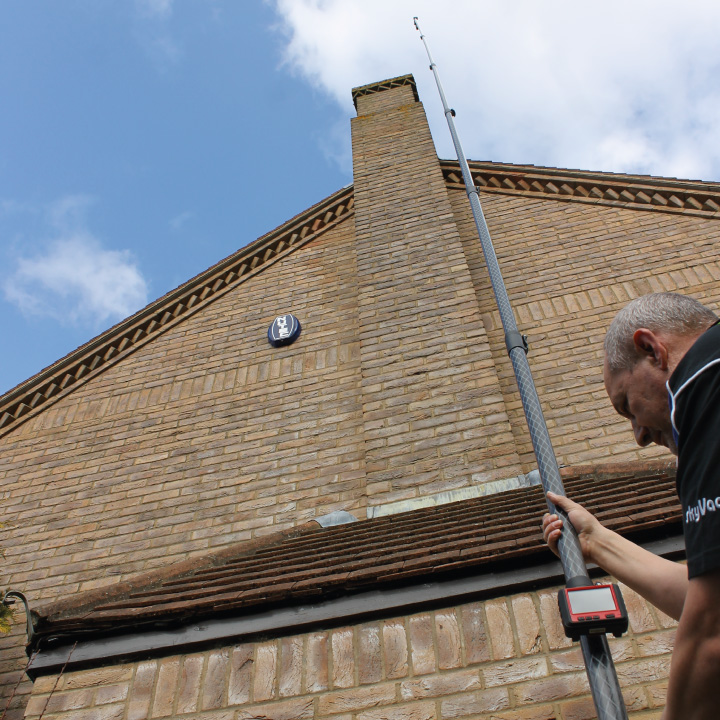 Gutter Cleaning Camera